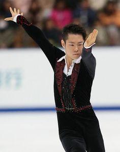 男子ショートプログラムで演技する村上大介=26日、長野市のビッグハット ▼26Dec2014時事通信|村上、課題クリア=全日本フィギュア http://www.jiji.com/jc/zc?k=201412/2014122600770 #Daisuke_Murakami #Big_Hat_Nagano #Japan_Figure_Skating_Championships_2014 ◆Japan Figure Skating Championships - Wikipedia http://en.wikipedia.org/wiki/Japan_Figure_Skating_Championships