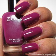 Zoya Margo | Addicted to Polish #blackwomen #manicure