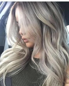 50 Ash Blonde Hair Color Ideas 2019 - Ash blonde hair Ash Blonde Hair Color Ideas Ash blonde is a shade of blonde that's slightly gray tinted with cool undertones. Today's article is all about these pretty 50 Ash Blonde Hair Color. Ash Blonde Balayage, Dyed Blonde Hair, Blonde Pixie, Brown Blonde Hair, Blonde Highlights, Grey Ash Blonde, Ash Grey Hair, Ashy Hair, Light Ash Blonde