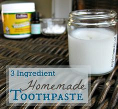 3-ingredient homemade toothpaste -   suzyhomemaker.net