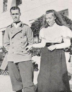 "Grand Duke Mikhail Alexandrovich Romanov of Russia and Grand Duchess Olga Alexandrovna Romanova of Russia. ""AL"""