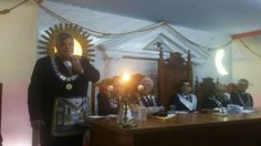 RITO    BRASILEIRO   DE MAÇONS ANTIGOS LIVRES E ACEITOS - MM.´.AA.´.LL.´.AA.´.: Irmão Evandro Lecey compõe a comitiva do GOEGnas ...
