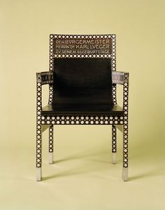 Otto Wagner chair 1904