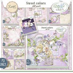 Sweet colors Full pack de Xuxper Designs