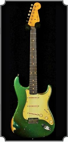 Fender '59 Heavy Relic Faded Metallic Sherwood Green Strat