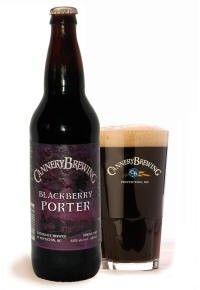 Cerveja Cannery Blackberry Porter, estilo Fruit Beer, produzida por Cannery Brewing, Canadá. 6.5% ABV de álcool.