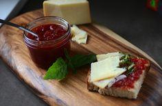 Tomato jam - http://blissfulbblog.com/blog/2011/6/9/blissful-eats-with-tina-jeffers-tomato-jam-1.html