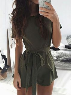 clothes rompers 30 Latest Summer Outfits to Try This Year - Gravetics Casual Outfits, Cute Outfits, Fashion Outfits, Womens Fashion, Ladies Outfits, Casual Clothes, Summer Clothes, 90s Fashion, Fashion News