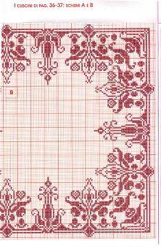 ru / Фото - 9 - unito by alissa Cross Stitch Thread, Cross Stitch Heart, Cross Stitch Borders, Cross Stitching, Cross Stitch Patterns, Embroidery Applique, Cross Stitch Embroidery, Embroidery Patterns, Motifs Blackwork