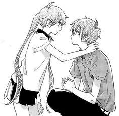 Immagine di anime and black and white