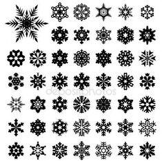 Fiocchi di neve — Illustrazione stock #1256737