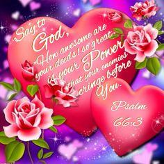 Psalm 66:3