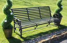 "Robust ""Chatham"" Park Bench - Iron Garden Benches - Garden Benches And Garden Seats - Garden Furniture - Garden & Outdoor Living - Catalogue  
