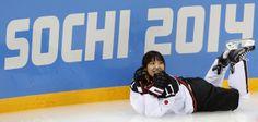 Sochi Olympics Ice Hockey Women - cośtam fajnego się jednak w Soczi zdarzyło