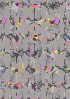 Nature inspired | Surface pattern design by Georgiana Paraschiv, via Behance