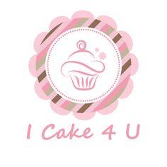 Cupcake Flower Logo - too cliché, has been done too often Cupcake Logo, Cupcake Shops, Cupcake Party, Cupcakes Flores, Flower Cupcakes, Logo Dulce, Logo Patisserie, Baptism Cupcakes, Dessert Logo