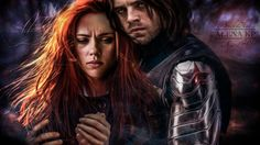 #WinterWidow Bucky And Natasha, Marvel Heroes, Marvel Dc Comics, Marvel Avengers, Black Widow Natasha, Marvel Movies, Best Superhero Movies, Marvel Characters, Natasha Romanoff