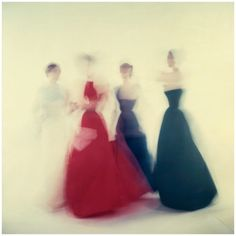 From The Gown Vogue - Vogue - 1954 Photo Clifford Coffin