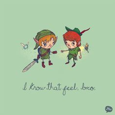 Zelda & Peter Pan