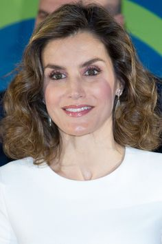 Pin for Later: Queen Letizia Ditched Her Suit Blazer For the Perfect Summer Top