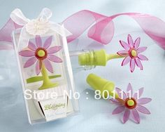 81b21a7650a1c Free Shipping novelty Wedding decoration Flower Bottle Stopper use as  Wedding Souvenir Valentine s day favors on