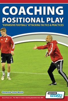 """Coaching Positional Play - """"Expansive Football"""" Attacking Tactics & Practices - How to how to play with the Spanish game model of """"Expansive Football"""" Football Coaching Drills, Team Coaching, Soccer Drills, Soccer Games, Football Tactics, Messi Gif, Vertical Jump Training, Basketball Workouts, Volleyball Tips"""