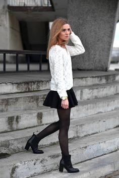 Kasia Tusk: jak nosić minispódniczkę, żeby nie zmarznąć? - Moda