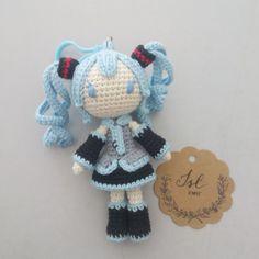 Kawaii Crochet, Cute Crochet, Crochet Dolls, Knit Crochet, Crochet Hats, Yarn Projects, Knitting Projects, Crochet Projects, Amigurumi Doll