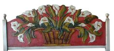 hand painted furniture | Mexican Rustic Furniture and Home Decor ...