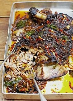 Jamie Oliver's slow cooked lamb shoulder
