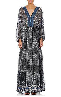 Madhi Silk Maxi Dress Ulla Johnson, Dress Outfits, Dresses, Floral Prints,  Silk ec084fb6d25