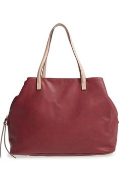 a1600a4c2d4 Sole Society Faux Leather Tote available at #Nordstrom Madewell, Nordstrom,  Handschoenen, Portemonnees
