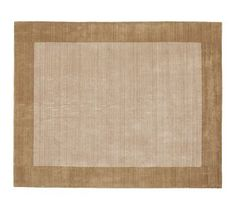 Henley Rug - Taupe #potterybarn I just bought a few of these for various rooms around our house.  They are beautiful, and very soft.