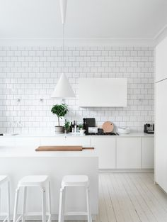 #white #kitchen