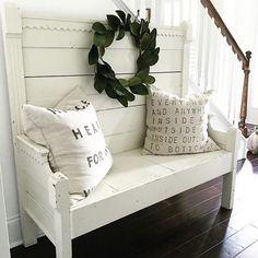 Gorgeous bench