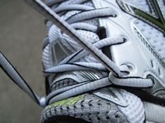 Have you been tying your shoes correctly for running?