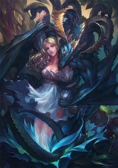 Dragon and Maiden