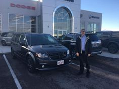 We want to congratulate Anthony  on your new 2017 Dodge Grand Caravan!! We hope you enjoy driving driving this one 300,000 miles like you did with your old Durango. We Love To See You Happy At Staunton Chrysler Dodge Jeep and Ram!!