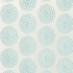 Laura Ashley Coco Duck Egg Blue Wallpaper hydrangea bloomspear lescent inks