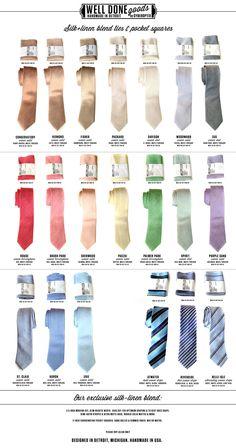 Custom Printed Linen Ties, Modern Cut