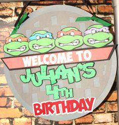 Teenage Mutant Ninja Turtles Birthday Party Ideas   Photo 1 of 39