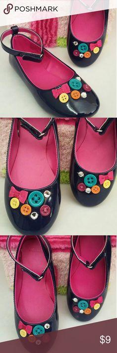 Gymboree Button Design Dress Shoes Blue Gymboree Button Design Dress Shoes 13 GY Fall 2 Gymboree Shoes Dress Shoes