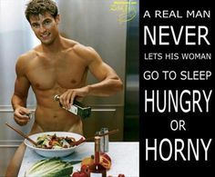 Hungry or horny