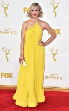 Taylor Schilling from 2015 Emmys: Red Carpet Arrivals   E! Online