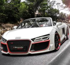 2013 Audi R8 Convertible from the team over at REGULA Tuning. ------ Tell Me This Car Isn't Sexxy?