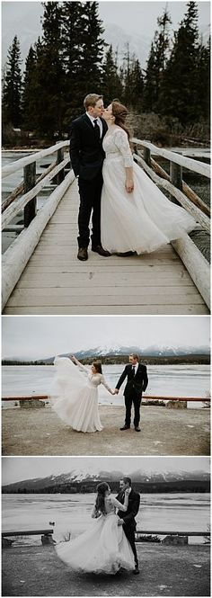Winter Pyramid Lake Resort Wedding in Jasper, Alberta. Photography by Teller of Tales Photography. Wedding Couples, Our Wedding, Wedding Photos, Wedding Ideas, Bride And Groom Pictures, Lake Resort, Wedding Photography Inspiration, Maid Of Honor, Couple Photography
