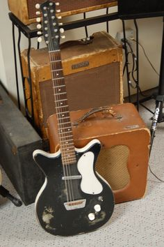 1959 Modified Danelectro 12 String. The guitar that wasn't supposed to be. Check it out at Lawman Guitars. 515-864-6136