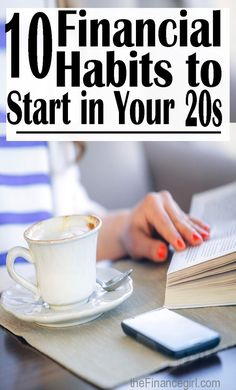 10 financial habits to start in your (learn how to make money, save money, a… – Finance tips, saving money, budgeting planner Ways To Save Money, Money Saving Tips, How To Make Money, Money Tips, Money Hacks, Planning Budget, Budget Planer, Savings Plan, Savings Challenge