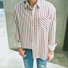 Look Fashion, Daily Fashion, Autumn Fashion, Fashion Outfits, Korean Fashion Men, Mens Fashion, Looks Style, My Style, Camisa Polo
