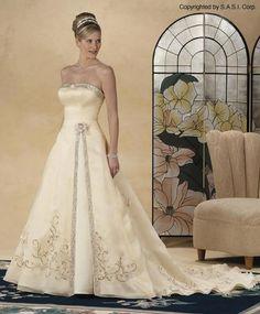 Princess Wedding Dress by Bridal Originals not sure on year.